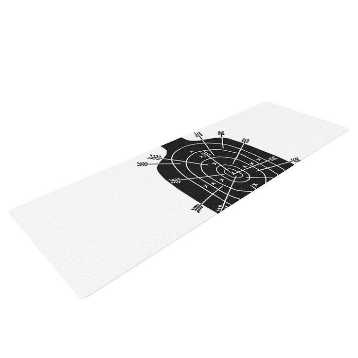 "BarmalisiRTB ""Arch Arrow"" Target Yoga Mat - KESS InHouse  - 1"