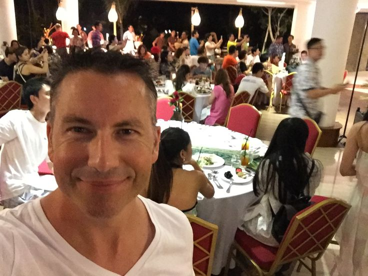 First DreamTrip experience - welcome dinner for my closest 100 new friends