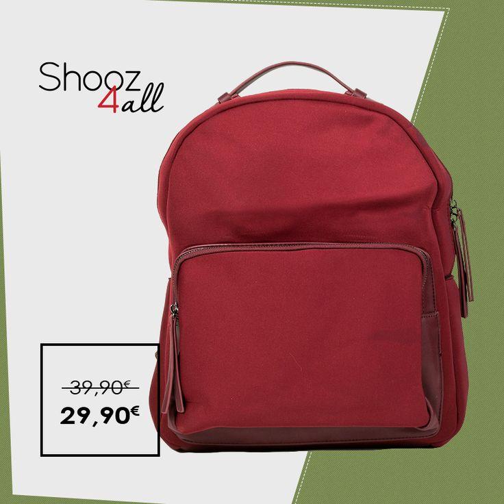 Backpack από neoprene ύφασμα http://www.shooz4all.com/el/gynaikeies-tsantes/backpack-apo-neoprene-yfasma-dzh951-detail #shooz4all #backpack