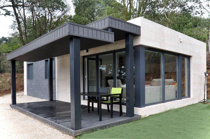 Projekty, Nowoczesny Domy zaprojektowane przez Casas Cube