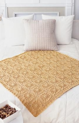Sunny Spread Crocheted throw - I will be working on this...love this