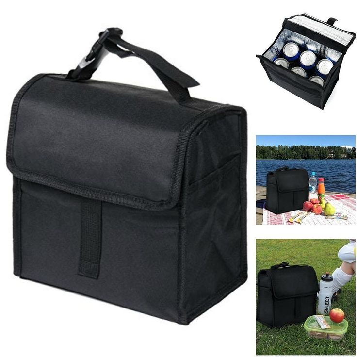 Lunch Bag Insulated Lunch Box Tote Food Storage Bag Bottle Holder Container BEST #Vitalismo