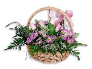 Szampański Bukiet Flower basket by Vivat  * Wino musujące Marques de Moja Semi Seco