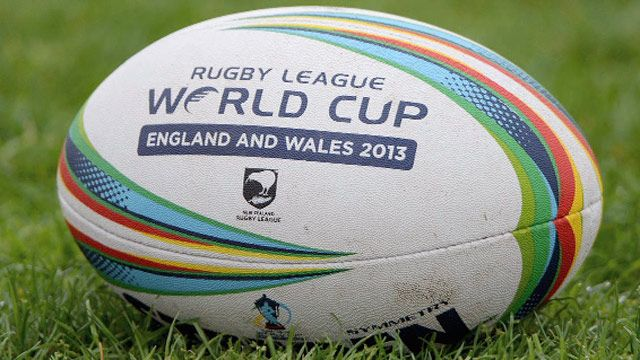 Rugby League World Cup 2013 ball