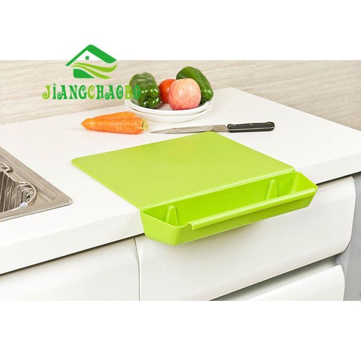 2-in-1 Non-slip Folding Cutting Board & Catch/ Storage Basin