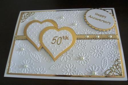 Happy 50th Anniversary Card