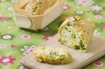 Mini-cakes aux légumes et au thon
