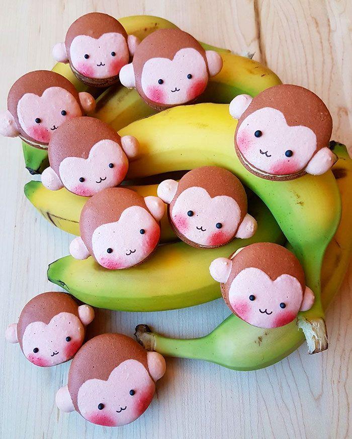Monkey Macarons :'(