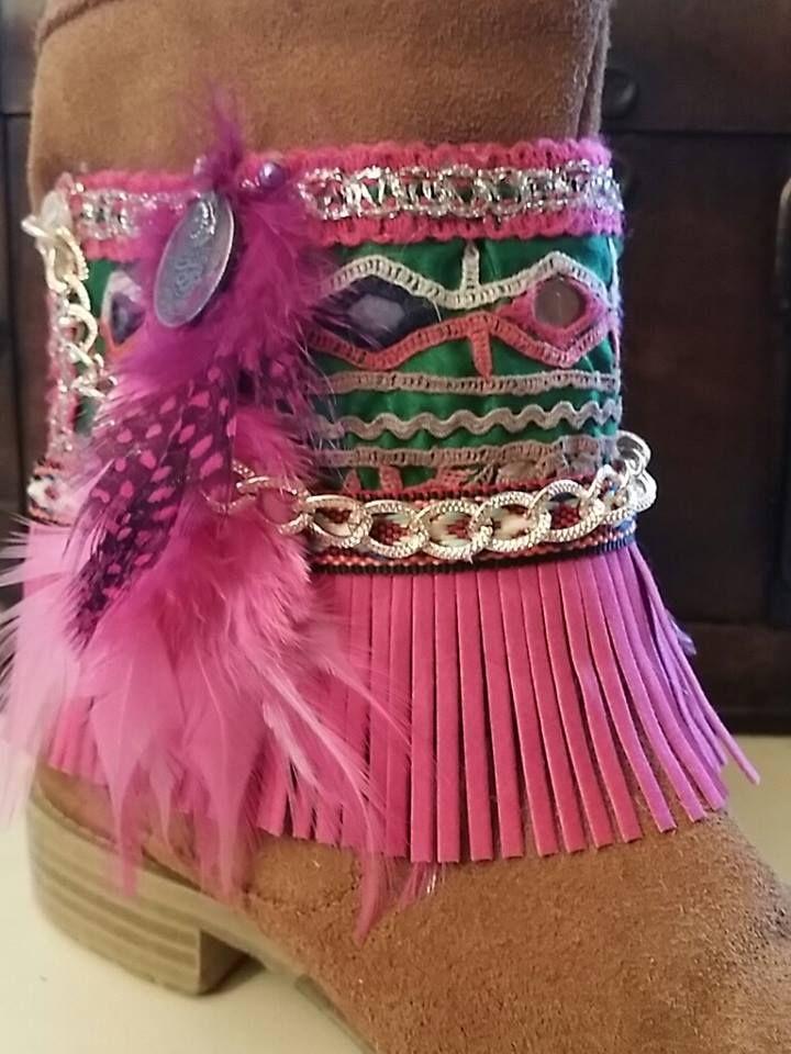 #byyoucomplementos #cubrebotas #decorabotas #boots #handmade #niños #girls