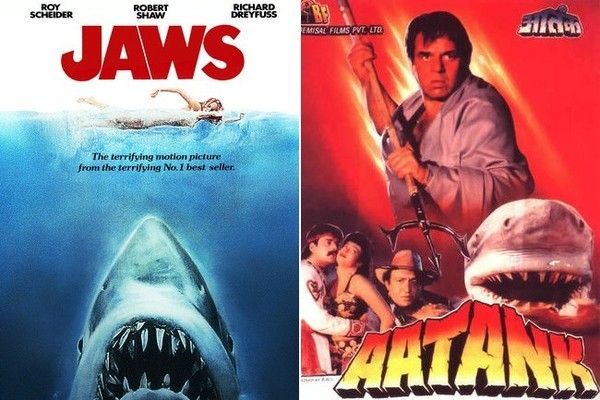 Foreign Movies That Ripped Off American Films - Even in India, killer sharks can wreak havoc in the water.