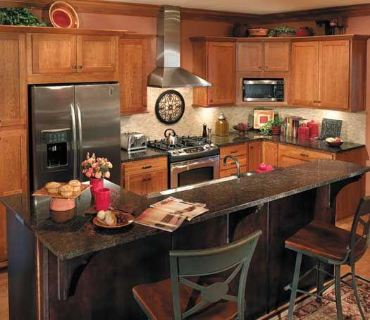 Kitchen Ideas Cherry Cabinets 40 best starmark cabinets images on pinterest | cherry finish