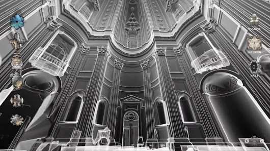 Laser scanning the Baroque #laserscanner #3D #virtualreality #architecture