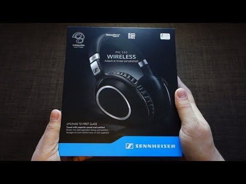Review Sennheiser PXC 550 Travel Wireless Active Noise Cancelling + test + opinion + unboxing - Andrasi.ro