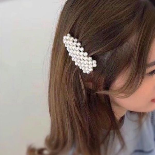 45 Most Beautiful Hair Clips To Improve Your Style Fashionlookstyle Com Inspiration Your Fashion And Style Hair Accessories Pearl Hair Clip Pearl Hair