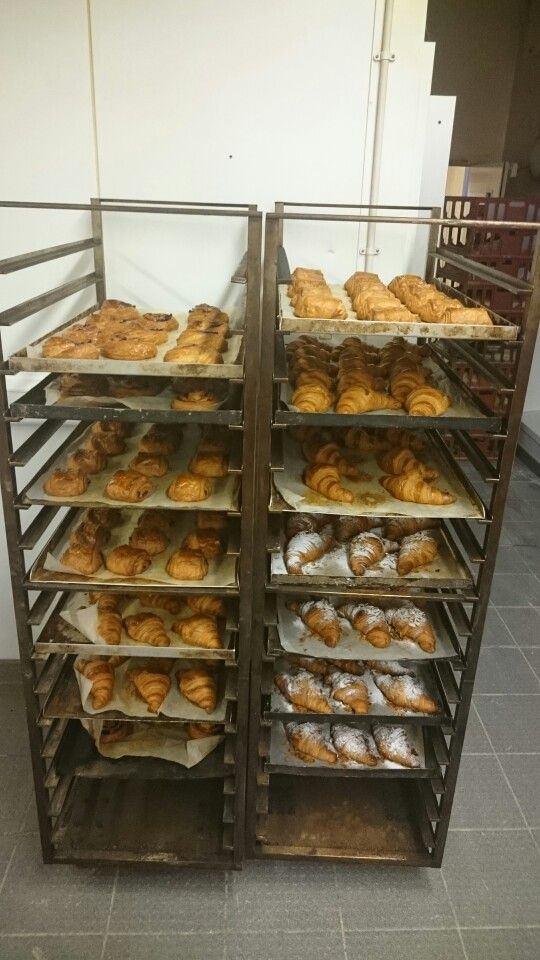 Range of croissants
