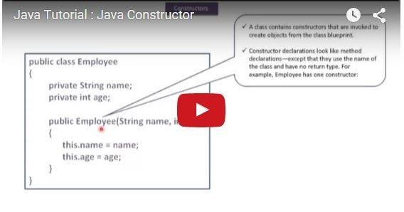 ramram43210,J2EE,Java,java tutorial,java tutorial for beginners,java tutorial for beginners with examples,java programming,java programming tutorial,java video tutorials,java basics,java basic tutorial,java basics for beginners,java interview questions and answers,java basic concepts,java basics tutorial for beginners,java programming language,java programming language tutorial,Java default Constructor,java constructor,constructors in java