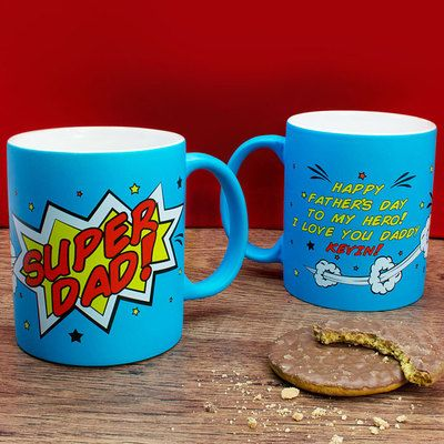 Check this out!! The Kitchen Gift Company have some great deals on Kitchen Gadgets & Gifts Personalised Super Dad Mug #kitchengiftco