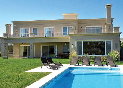 Vaccarezza, Tenesini & Angelone Arquitectos, casa estilo actual - PortaldeArquitectos.com