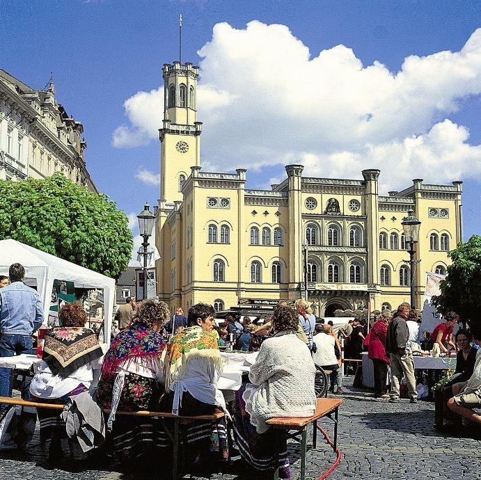 Zittau's beautiful town hall