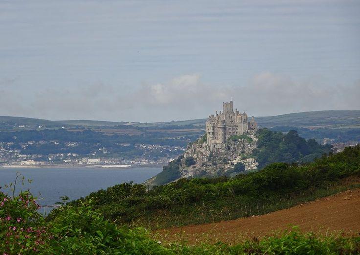 ST MICHAEL'S MOUNT (16 July 2016) | Cornwall: Viewed from Perranuthnoe     ✫ღ⊰n