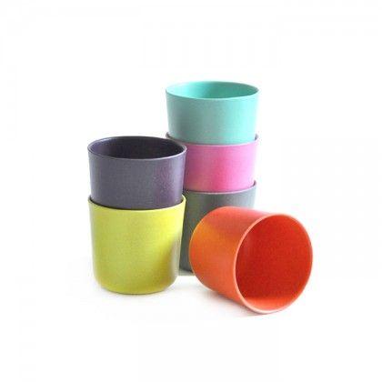 Bicchieri colorati per bimbo Biobu by Ekobo