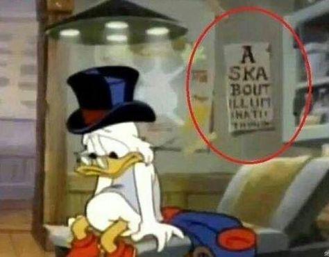 """Freaky Hidden Message """"Ask about Illuminati"""" ???????????????????"""