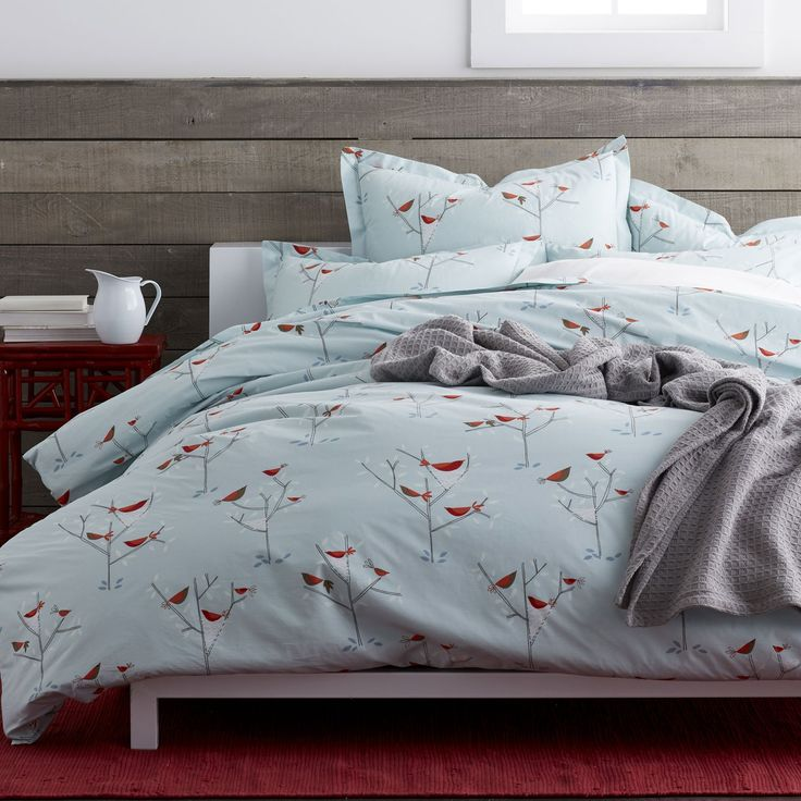 Birds Nest Percale Bedding