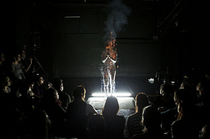 festival performance: Maria Sideri, Vibrant Matter