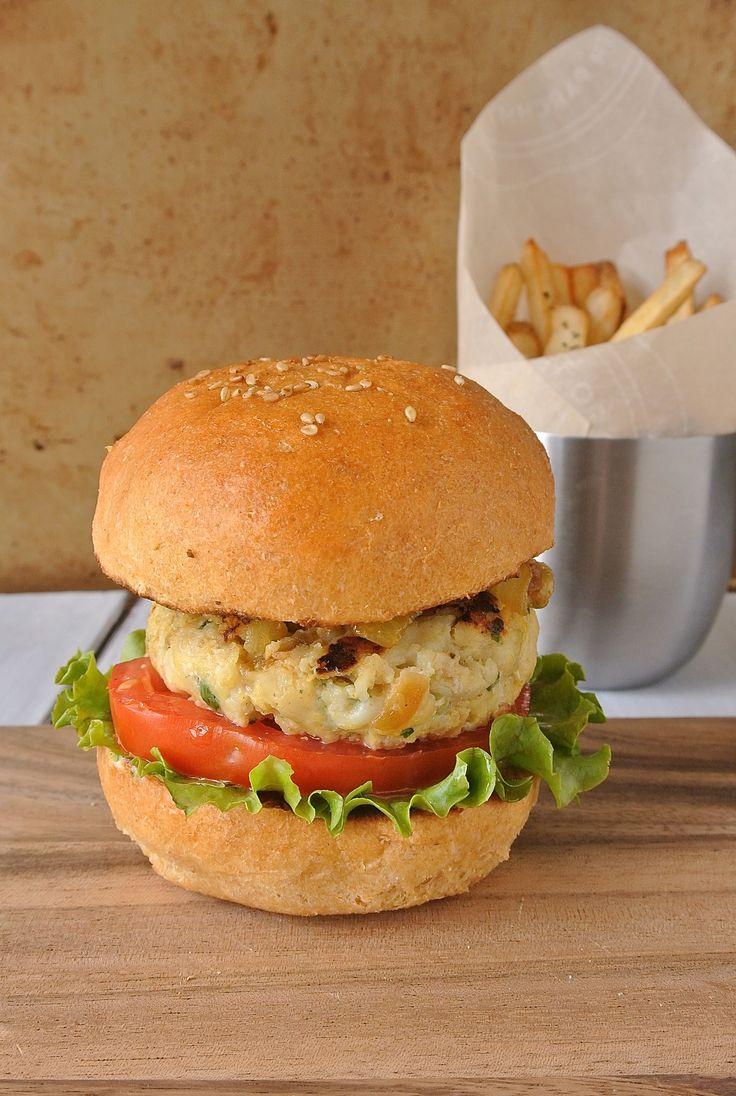 Tilapia burger. Tilapia is  a mild white fish that's perfect to take on the…