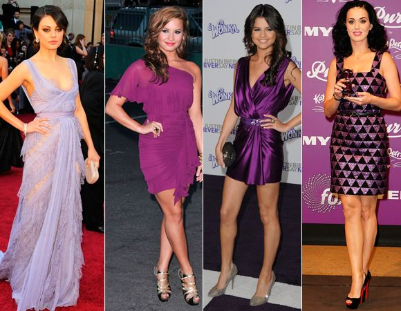 Vestidos roxos