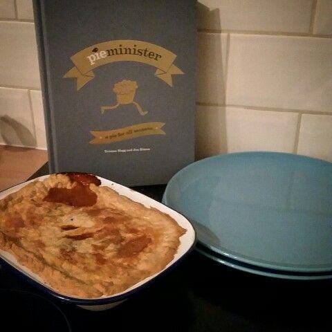 Homemade pie minister moo&blue
