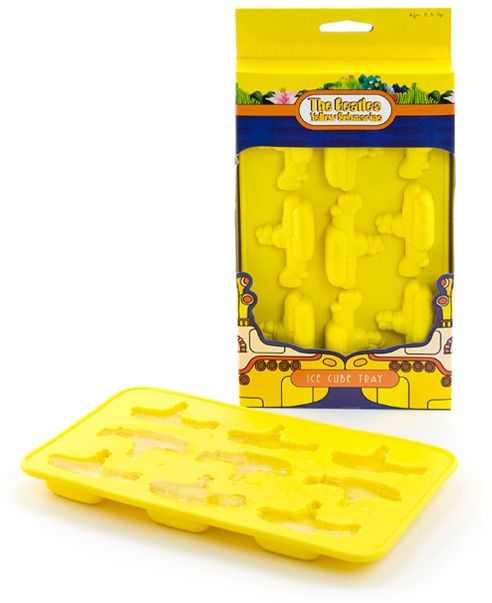 The Beatles Yellow Submarine Ice Cube Tray. use for chocolate and put on cupcakes.