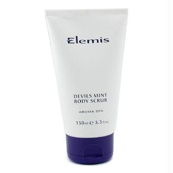 Elemis Spa Home Devils Mint Body Scrub, Body Performance, 5.1 Fluid Ounce by Elemis. $34.00. For all skin types. Prevents ingrown hairs after waxing or shaving. Gently polishes the skin's surface. Elemis Sp at home Devils Mint Body Scrub, Body Performance 5.1 FL OZ. Gel based exfoliating scrub that eliminates dead surface skin cells and deep cleanses to reveal a brighter, smoother and revitalized complexion.