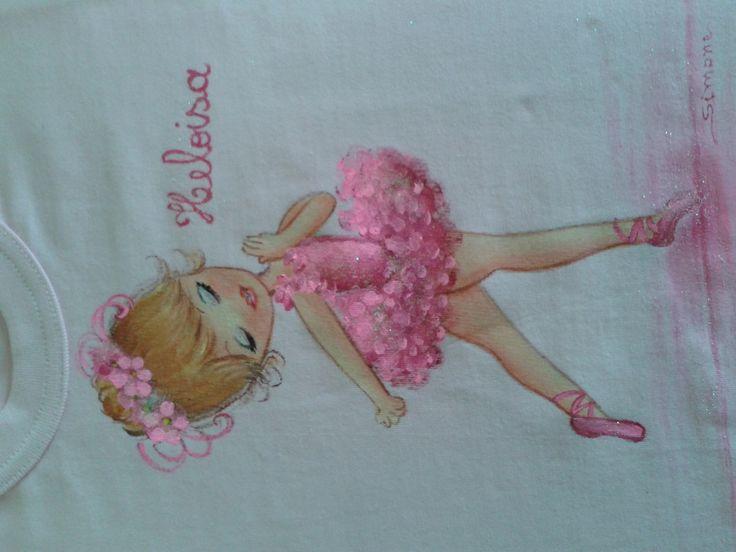 Pintura em tecido. , motivos variados. <br> motivos exclusivos de Natal <br>menina ou menino.