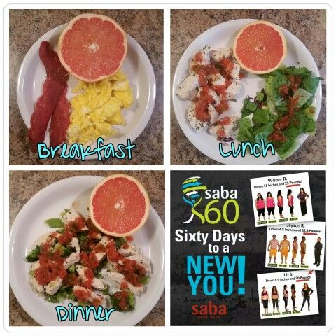 Saba 60! 60 days to a new you! Meal plan. Fitness. Health. Support. Supplements.
