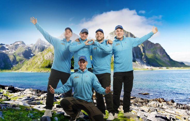 Fiskeruta kreativ reklame til profilering med foto og video til bedrift i fotostudio hos reklamebyrå Vua