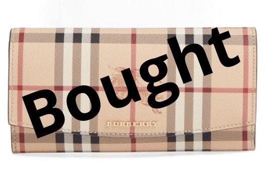 Burberry - Halton Haymarket Check Continental Wallet