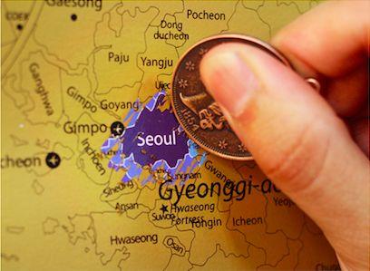 서울 지도 / Seoul map scratch  스크래치맵 한국맵 에디션 by 라고 /Scratch map Korea  by Lago /copy right by Lago