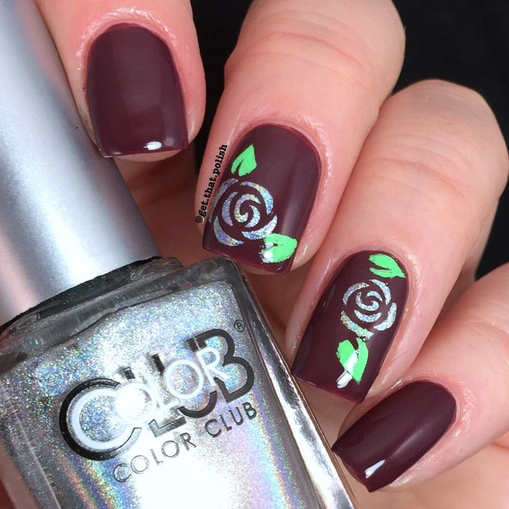 1234 best whats up nails nail art store images on pinterest holo roses using stencils from whatsupnails whatsupnails flower nailsnail art flowersnail artistart storegorgeous prinsesfo Gallery