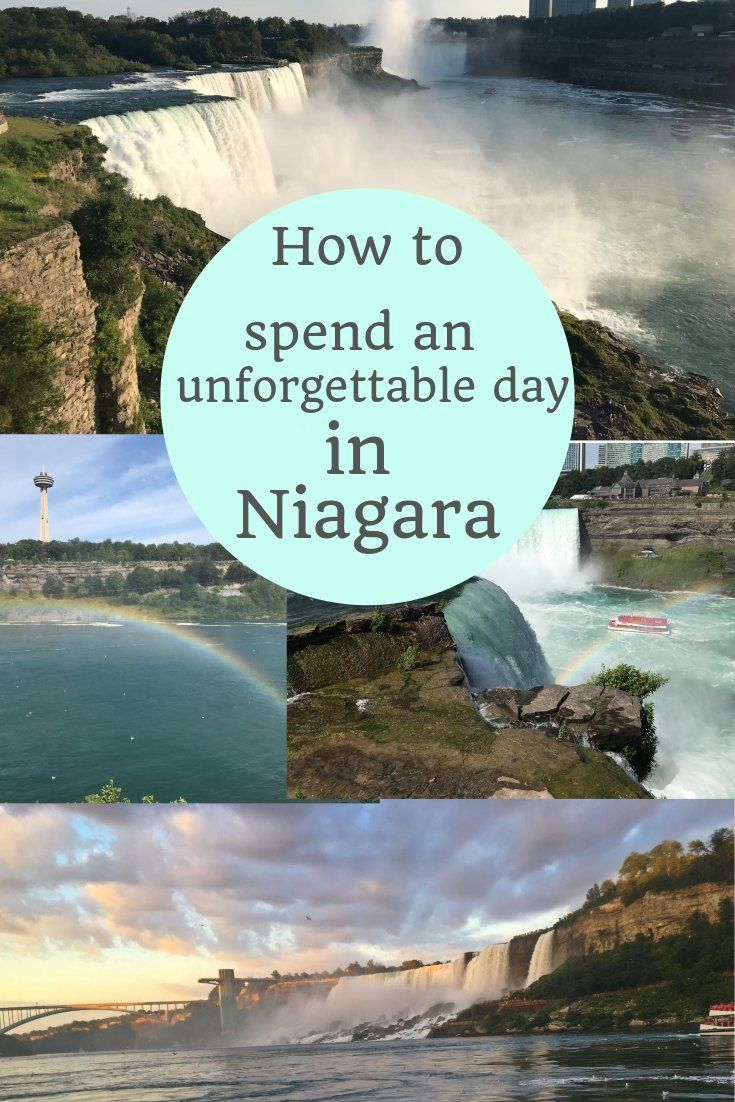 One Day In Niagara Falls Us Side Diary Of A Detour Travel Tips Pinterest And Hotels