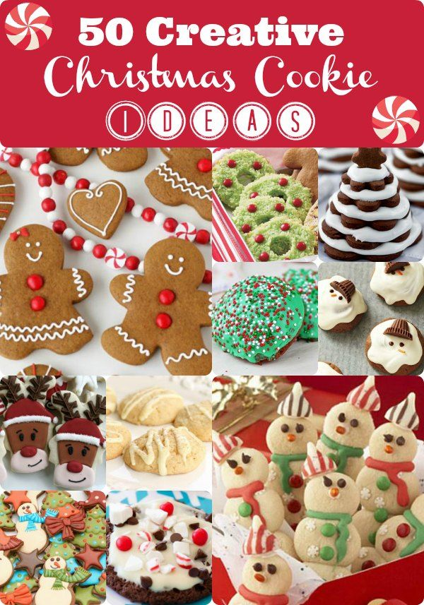 Baking season is in full swing and everyone seems to be looking for Creative Christmas Cookie Ideas! Here's our Top 50 Creative Christmas Cookie Ideas!