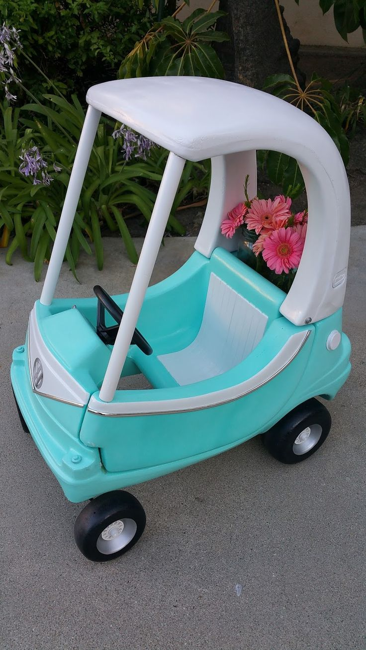 Cozy Coupe Makeover  Off topic / Non-NBC related post     I was on the hunt for a fun first birthday present for our daughter.  I came acro...