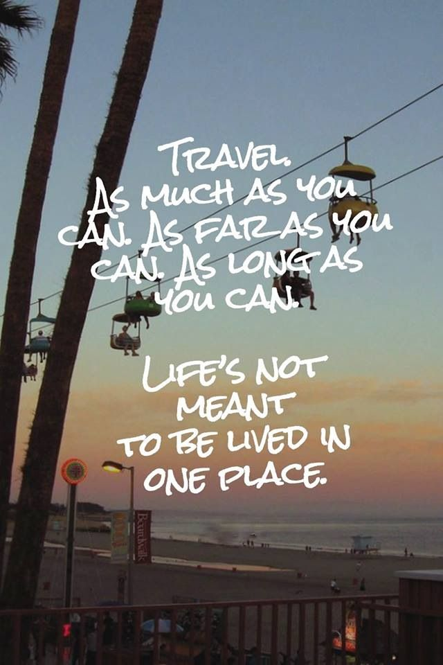 Advice from a traveler