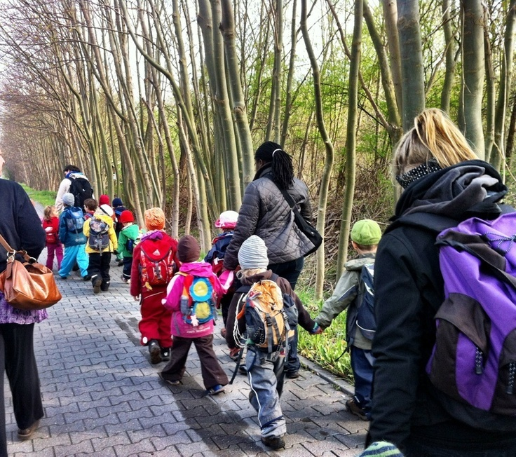 Kindling: WaKiGa - out in nature with a Waldkindergarten