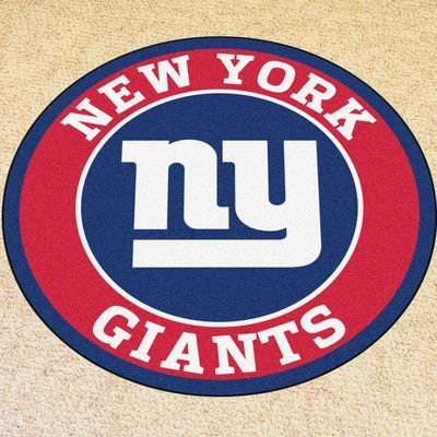 FANMATS NFL New York Giants Roundel 27 in. x 27 in. Non
