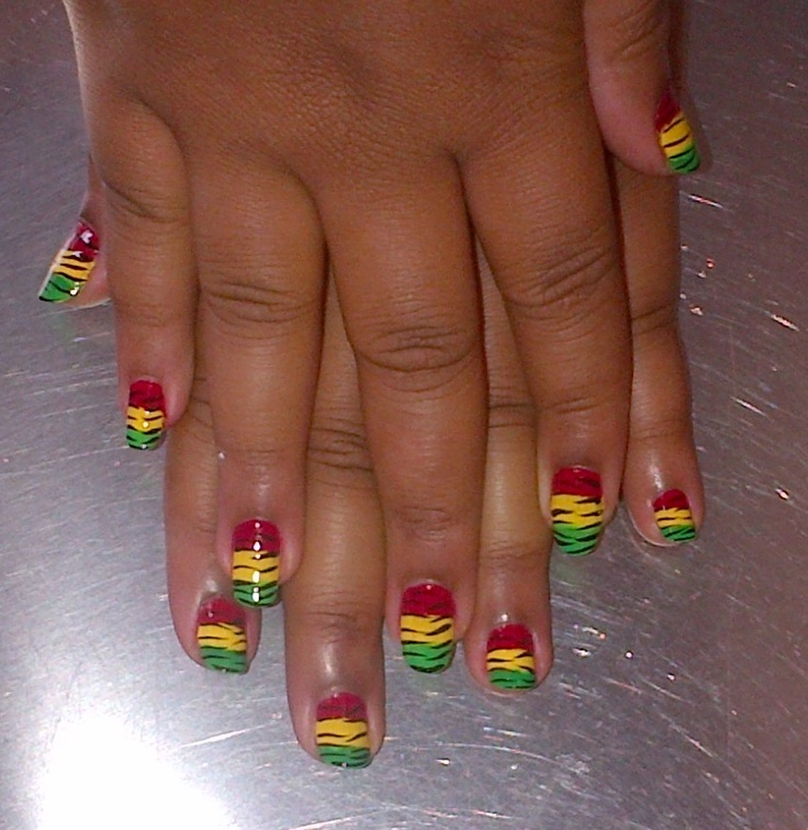 Magnificent Jamaican Nail Designs Gallery - Nail Paint Design Ideas ...