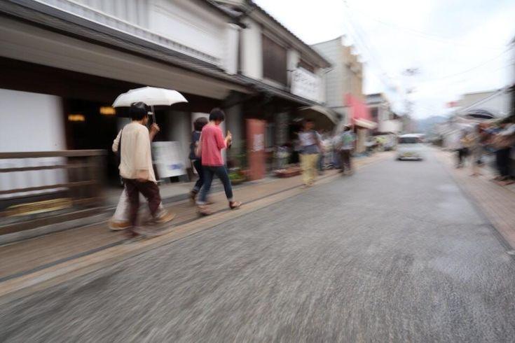 Twitter / hanaeru_odoi: #30jidori みすず記念館へ急ぐ観光客 http:// ...