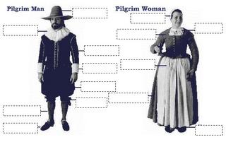 Little Miss Glamour Goes To Kindergarten: pilgrims & native americans.