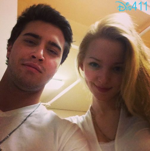 Photo: Dove Cameron And Ryan McCartan Both In White February 11, 2014