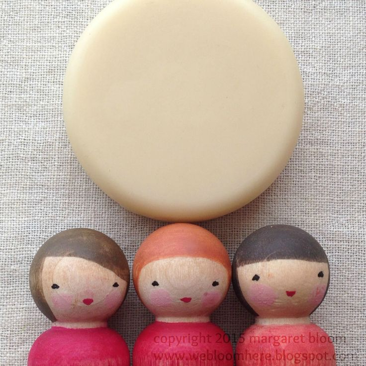 Beeswax polish is almost always listed in my instructions for making peg dolls. But I realized  something the other day. B...